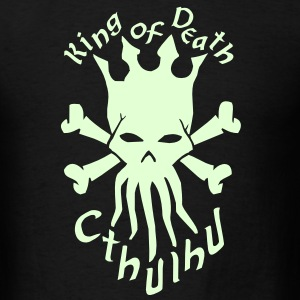 King of death - Cthulhu (with text) T-Shirts - Men's T-Shirt