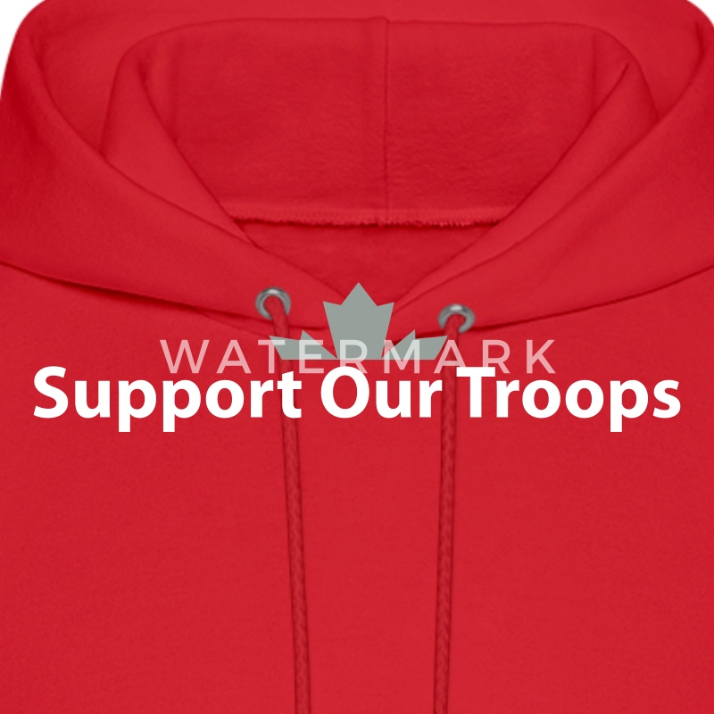 Support our troops hoodie spreadshirt for Red support our troops shirts