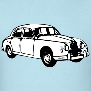 Jaguar mk1 illustration - Men's T-Shirt