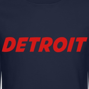 DETROIT Long Sleeve Shirts - Crewneck Sweatshirt