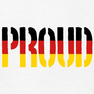 Proud Germany Flag, Proud to be German - Kids' T-Shirt