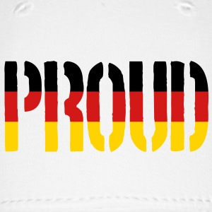 Proud Germany Flag, Proud to be German - Baseball Cap
