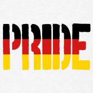 Design ~ PRIDE Germany Flag, Proud to be German