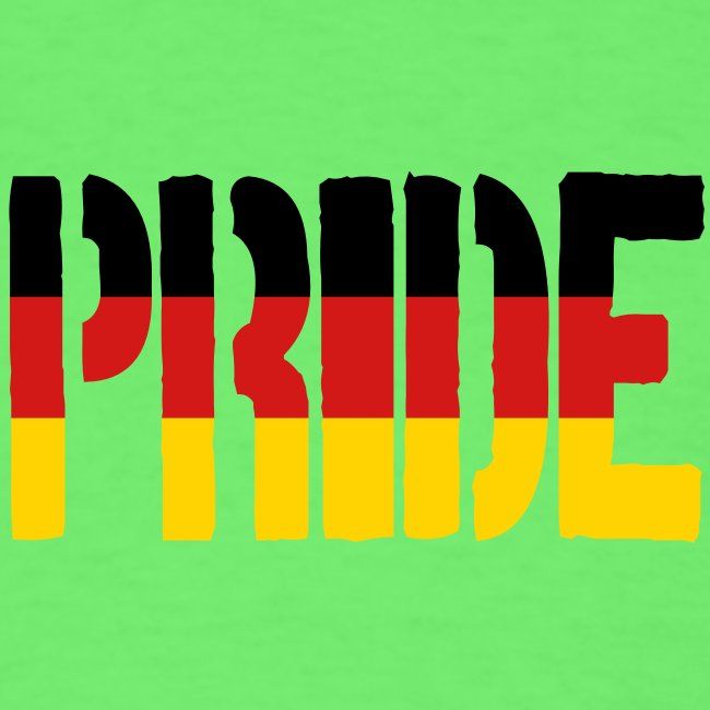 PRIDE Germany Flag, Proud to be German