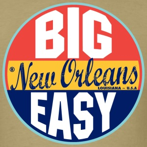 New Orleans Vintage Label Standard Weight T-Shirt - Men's T-Shirt