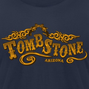 Tombstone Saloon American Apparel T-Shirt - Men's T-Shirt by American Apparel