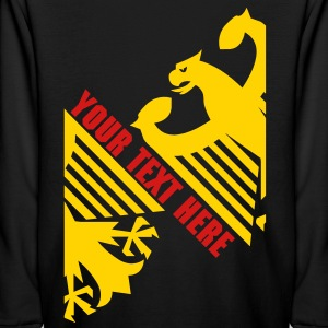 German Eagle, Personalize, Made in Germany - Kids' Long Sleeve T-Shirt