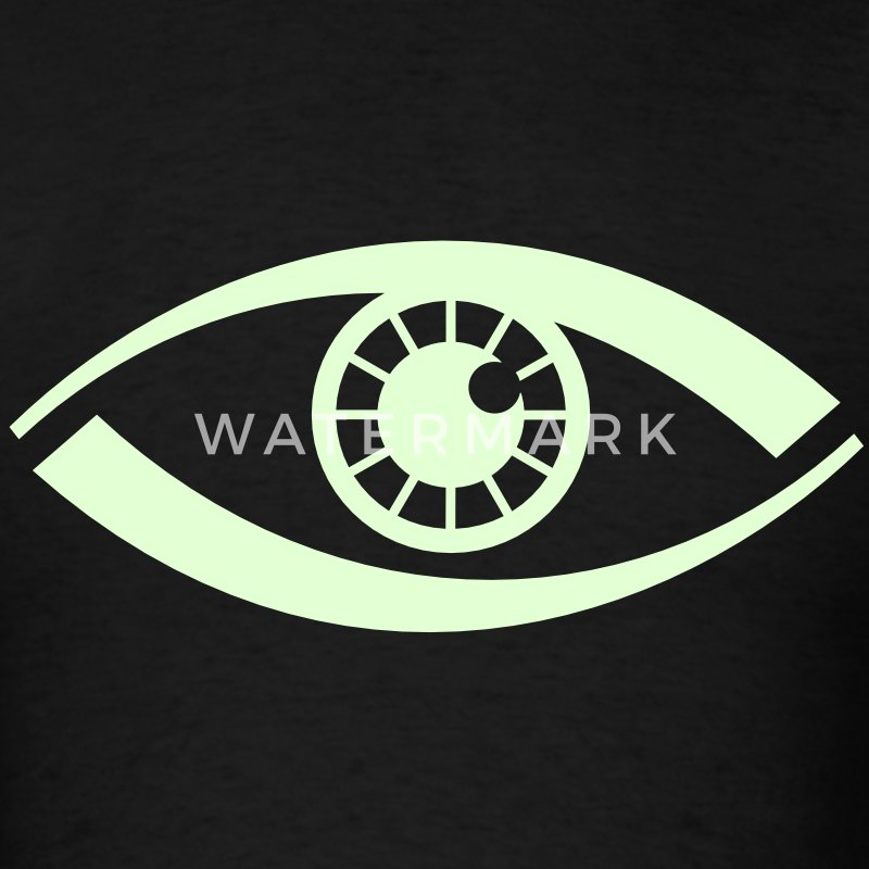 Eye VECTOR T-Shirts - Men's T-Shirt