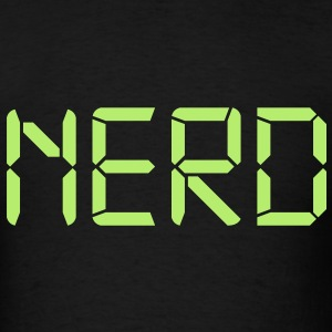 Appropriately typed Nerd - Men's T-Shirt
