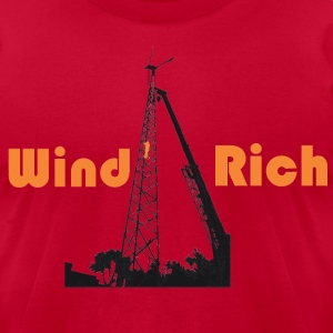 Wind Rich T-Shirts - Men's T-Shirt by American Apparel