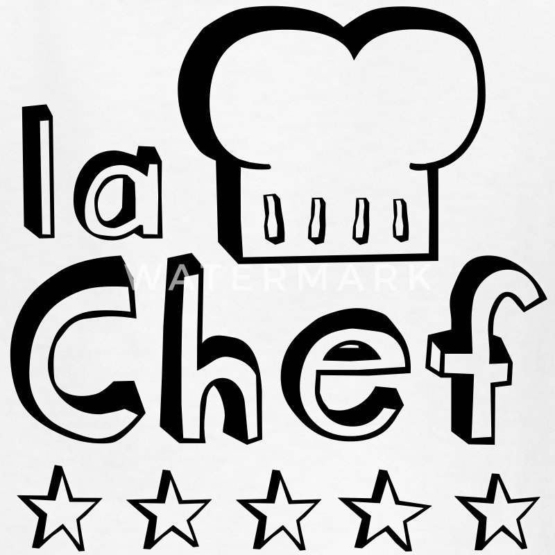 La Chef mother, wife or woman always cook food best  Kids' Shirts - Kids' T-Shirt