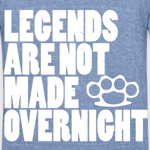 legends T-Shirts - Unisex Tri-Blend T-Shirt by American Apparel