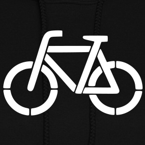 bicycle stencil Hoodies - Women's Hoodie