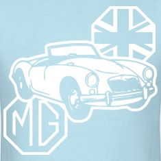 MG MGA Classic British Sports Car