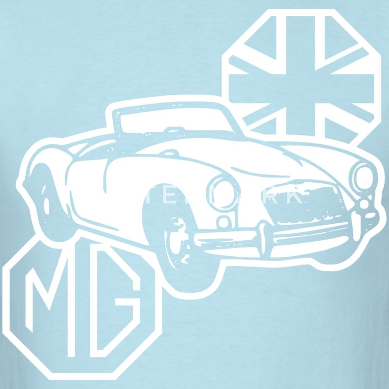 MG MGA Classic British Sports Car - Men's T-Shirt