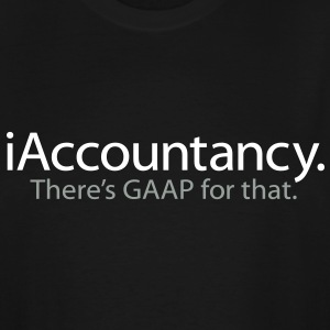 iAccountancy - There's GAAP for That - Men's Tall T-Shirt