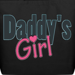 daddy's girl Bags  - Eco-Friendly Cotton Tote