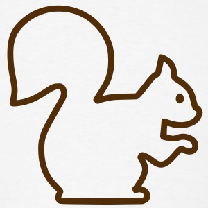 Squirrel T-Shirts - Men's T-Shirt