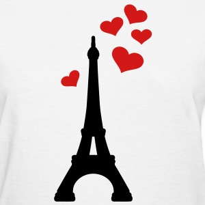 Eiffel Tower Paris Women's T-Shirts - Women's T-Shirt