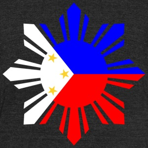 Philippines Flag T-Shirts - Unisex Tri-Blend T-Shirt by American Apparel
