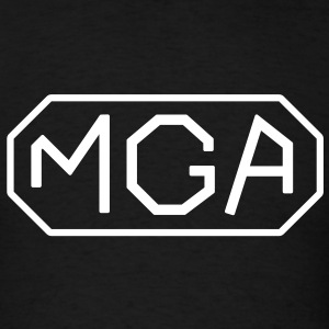 Classic MG MGA lettering - Men's T-Shirt