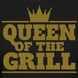 Queen of the Grill - Gold foil edition - Women's T-Shirt