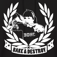 Design ~ Bake and Destroy Men's Hoodie