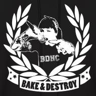 Design ~ Bake and Destroy Men's Hoodie