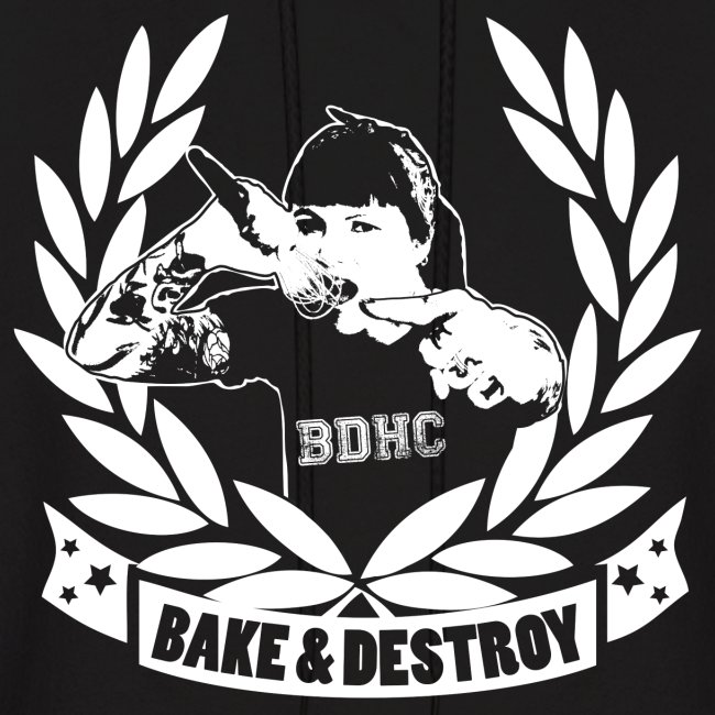 Bake and Destroy Unisex Hoodie