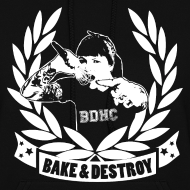 Design ~ Bake and Destroy Women's Hoodie