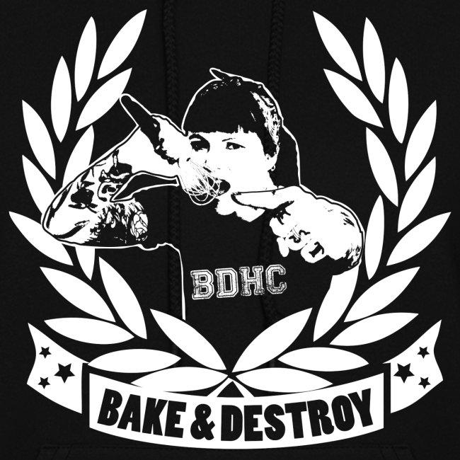 Bake and Destroy Slim Fit Hoodie
