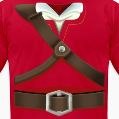 Link Red Tunic (Skyward Sword) - Front Only T-Shirts