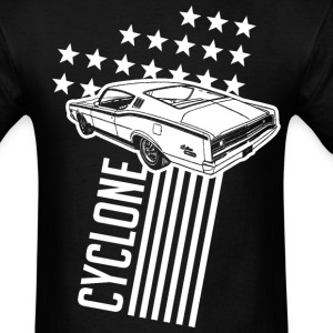 Mercury Cyclone Stars & Stripes - Men's T-Shirt