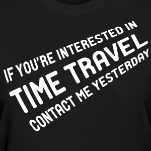 Time Travel - Women's T-Shirt
