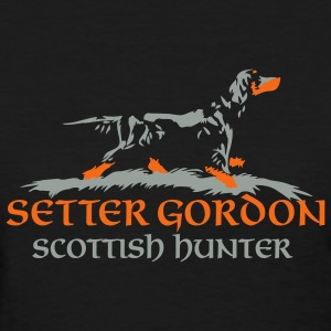 setter gordon - scottish hunter - Women's T-Shirt