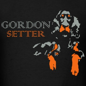 gordon setter - Men's T-Shirt