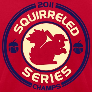 Cardinals Rally Squirrel shirt T-Shirts - Men's T-Shirt by American Apparel