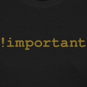 CSS Important Declaration - Women's T-Shirt