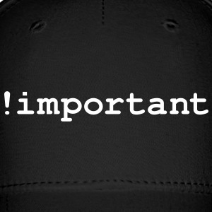 CSS Important Declaration - Baseball Cap