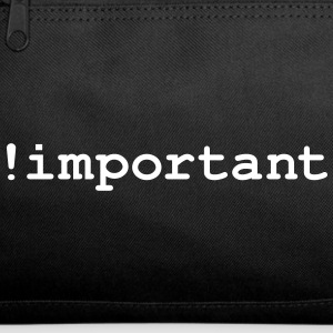CSS Important Declaration - Duffel Bag