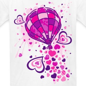Hot_Air_Balloon_Trip - Kids' T-Shirt