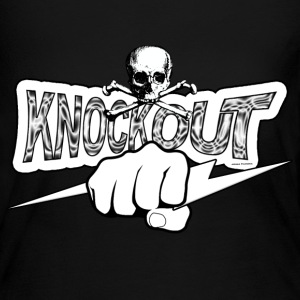 Knockout Fighter Long Sleeve Shirts - Women's Long Sleeve Jersey T-Shirt