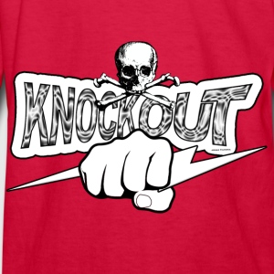 Knockout Fighter Kids' Shirts - Kids' Long Sleeve T-Shirt