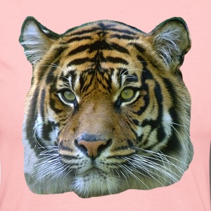 Tiger Head - Women's Long Sleeve Jersey T-Shirt