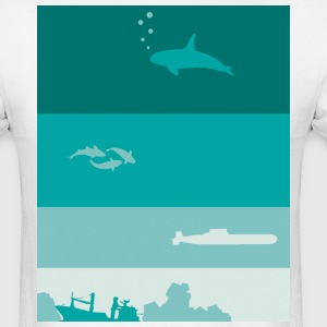 Deep Ocean T-Shirts - Men's T-Shirt