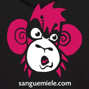 the monkey - Men's Hoodie