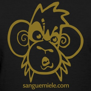 the monkey - Women's T-Shirt