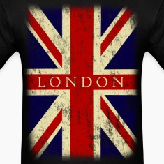 Vintage UK London Flag