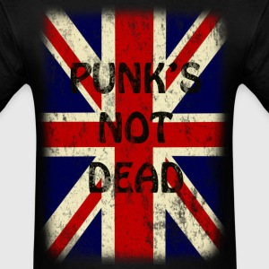 Vintage Punks Not Dead - Men's T-Shirt