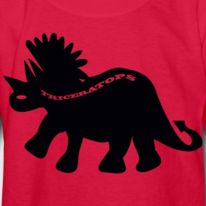Triceratops - Kids' Long Sleeve T-Shirt